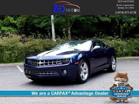 2010 Chevrolet Camaro for sale at Zed Motors in Raleigh NC