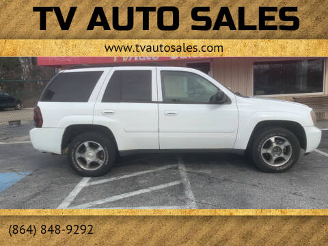 2009 Chevrolet TrailBlazer for sale at TV Auto Sales in Greer SC