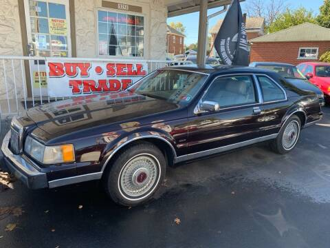 1988 Lincoln Mark VII for sale at Waltz Sales LLC in Gap PA