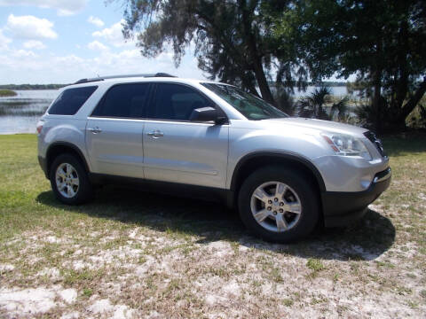 2010 GMC Acadia for sale at LANCASTER'S AUTO SALES INC in Fruitland Park FL