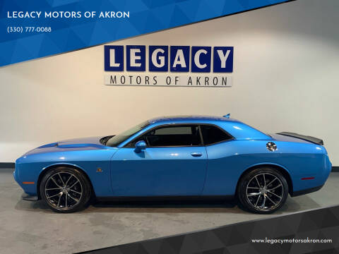 2015 Dodge Challenger for sale at LEGACY MOTORS OF AKRON in Akron OH
