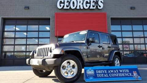 2014 Jeep Wrangler Unlimited for sale at George's Used Cars - Pennsylvania & Allen in Brownstown MI
