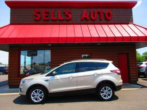 2018 Ford Escape for sale at Sells Auto INC in Saint Cloud MN