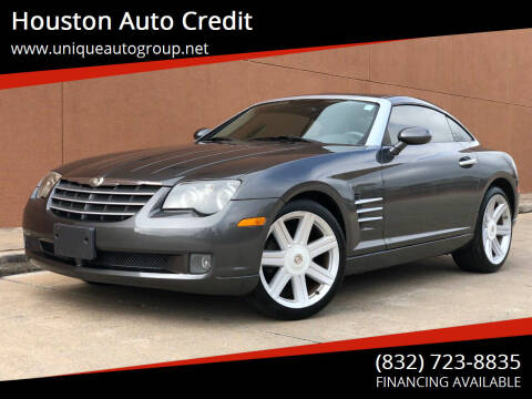 2006 Chrysler Crossfire for sale at Houston Auto Credit in Houston TX