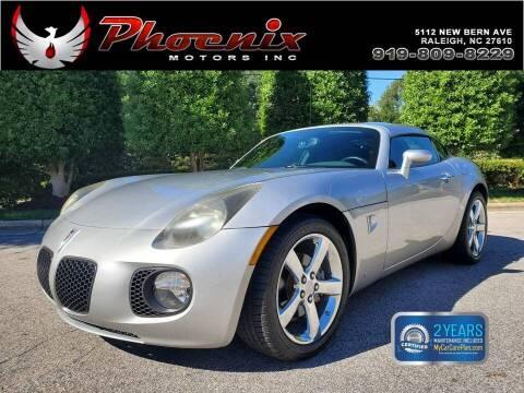 2009 Pontiac Solstice for sale at Phoenix Motors Inc in Raleigh NC