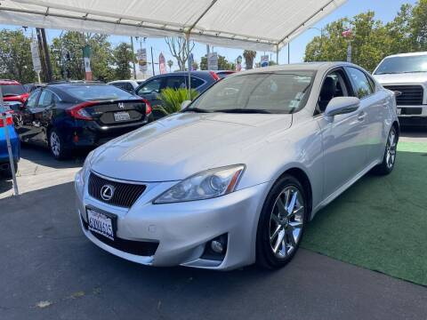 2012 Lexus IS 250 for sale at San Jose Auto Outlet in San Jose CA