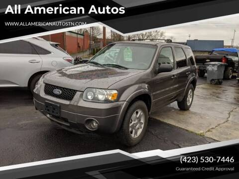 2006 Ford Escape for sale at All American Autos in Kingsport TN