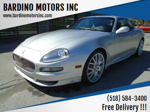 2005 Maserati GranSport for sale at BARDINO MOTORS INC in Saratoga Springs NY