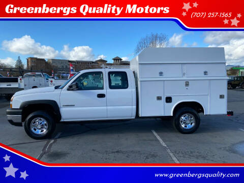 2006 Chevrolet Silverado 2500HD for sale at Greenbergs Quality Motors in Napa CA