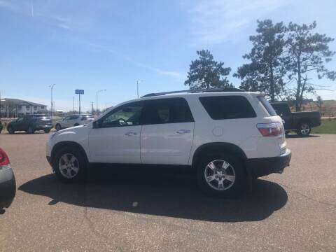2012 GMC Acadia for sale at Mays Auto Sales and Service in Stanley WI