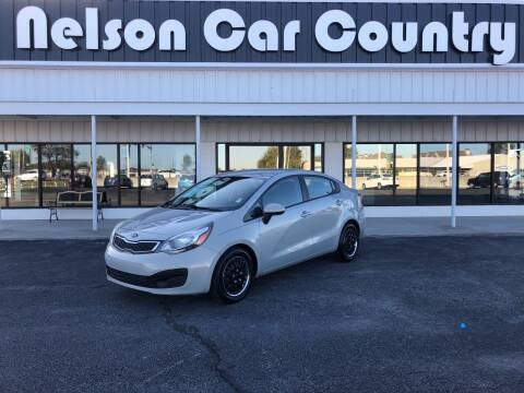 2014 Kia Rio for sale at Nelson Car Country in Bixby OK