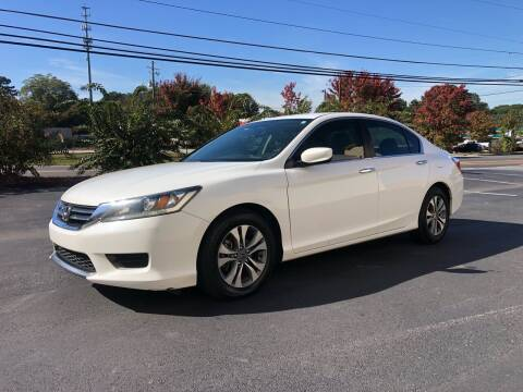 2015 Honda Accord for sale at GTO United Auto Sales LLC in Lawrenceville GA
