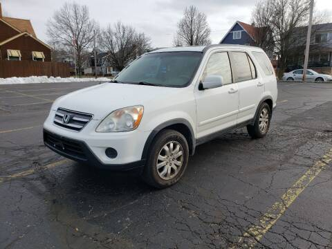 2006 Honda CR-V for sale at USA AUTO WHOLESALE LLC in Cleveland OH