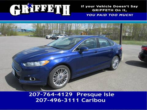 2015 Ford Fusion for sale at Griffeth Mitsubishi - Pre-owned in Caribou ME
