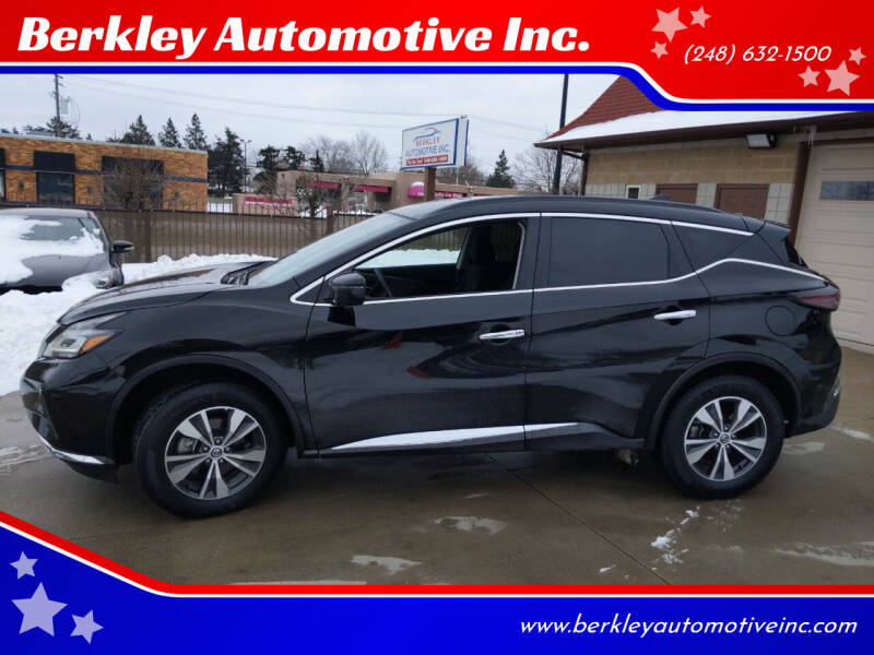2020 Nissan Murano for sale at Berkley Automotive Inc. in Berkley MI