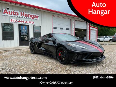 2021 Chevrolet Corvette for sale at Auto Hangar in Azle TX