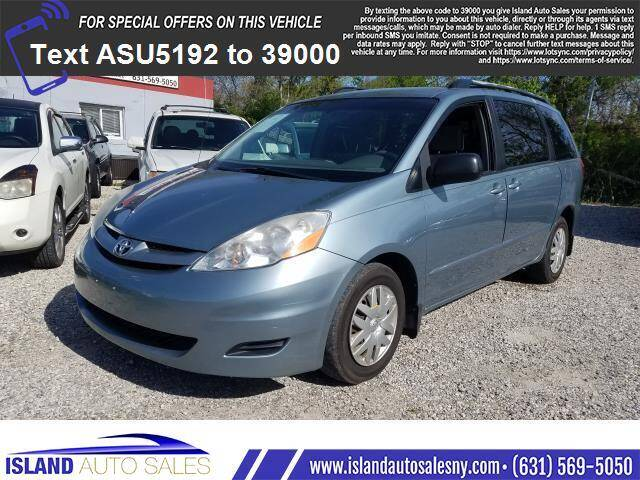 2008 Toyota Sienna for sale at Island Auto Sales in E.Patchogue NY