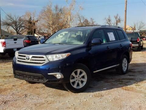 2013 Toyota Highlander for sale at Bryans Car Corner in Chickasha OK
