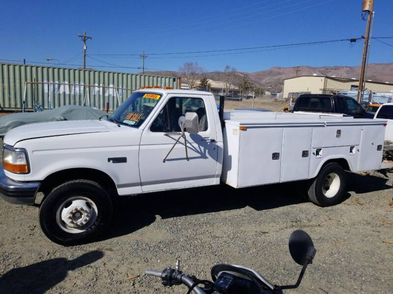 1996 Ford F-450 for sale at Freds Auto Sales LLC in Carson City NV