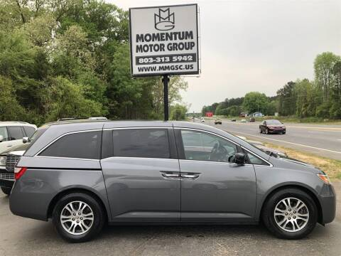2012 Honda Odyssey for sale at Momentum Motor Group in Lancaster SC