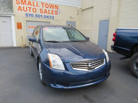 2011 Nissan Sentra for sale at Small Town Auto Sales in Hazleton PA