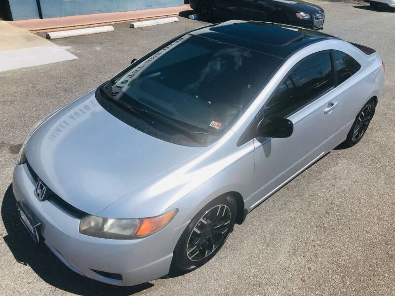 2007 Honda Civic for sale at Trimax Auto Group in Norfolk VA