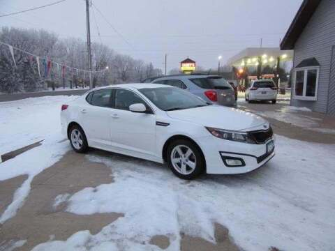 2015 Kia Optima for sale at Stoufers Auto Sales, Inc in Madison Lake MN