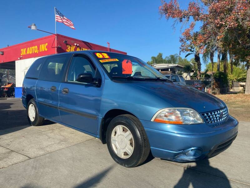 2003 Ford Windstar for sale at 3K Auto in Escondido CA