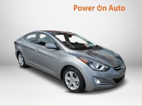 2016 Hyundai Elantra for sale at Power On Auto LLC in Monroe NC