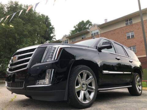2016 Cadillac Escalade for sale at Trimax Auto Group in Norfolk VA