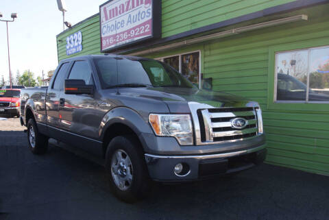 2010 Ford F-150 for sale at Amazing Choice Autos in Sacramento CA
