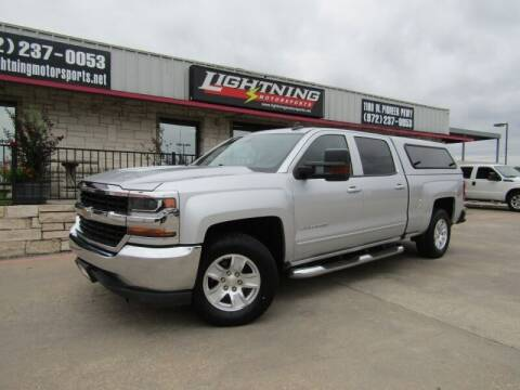 2017 Chevrolet Silverado 1500 for sale at Lightning Motorsports in Grand Prairie TX