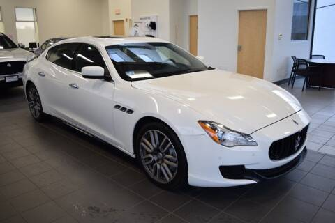 2015 Maserati Quattroporte for sale at BMW OF NEWPORT in Middletown RI
