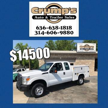 2013 Ford F-250 Super Duty for sale at CRUMP'S AUTO & TRAILER SALES in Crystal City MO