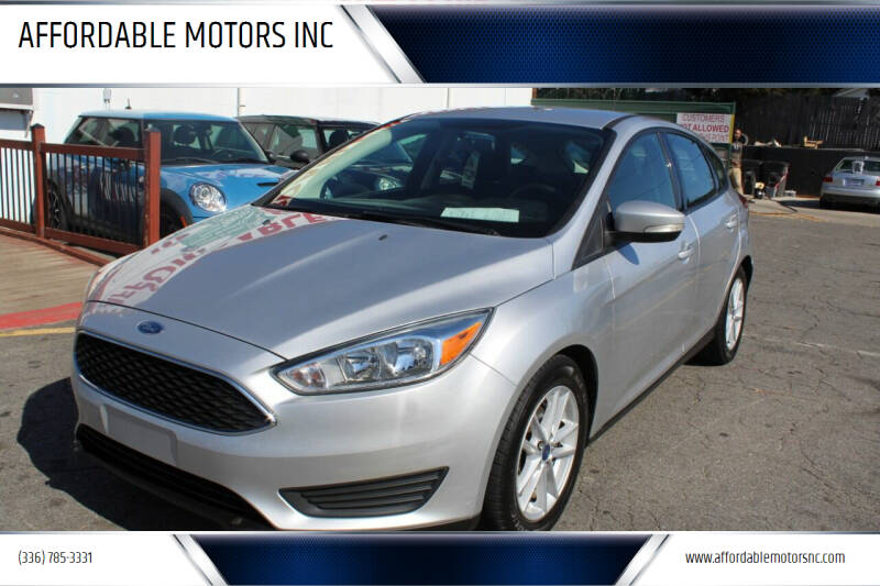 2017 Ford Focus for sale at AFFORDABLE MOTORS INC in Winston Salem NC