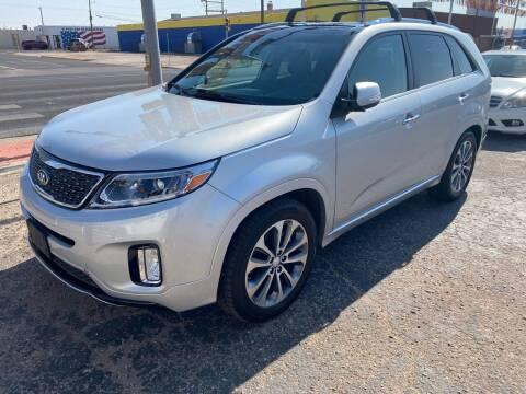 2014 Kia Sorento for sale at Gabes Auto Sales in Odessa TX