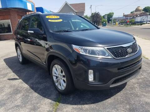 2015 Kia Sorento for sale at BELLEFONTAINE MOTOR SALES in Bellefontaine OH