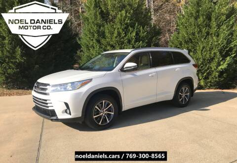 2018 Toyota Highlander for sale at Noel Daniels Motor Company in Brandon MS