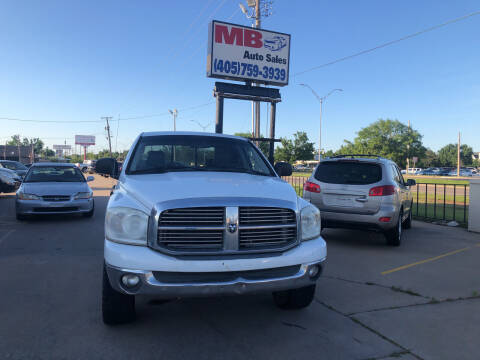 2008 Dodge Ram Pickup 1500 for sale at MB Auto Sales in Oklahoma City OK