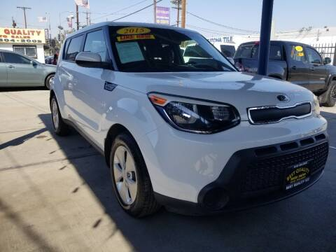 2015 Kia Soul for sale at Best Quality Auto Sales in Sun Valley CA