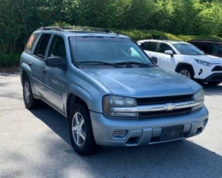 2006 Chevrolet TrailBlazer for sale at DON BAILEY AUTO SALES in Phenix City AL