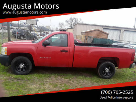 2010 Chevrolet Silverado 1500 for sale at Augusta Motors in Augusta GA