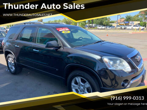 2009 GMC Acadia for sale at Thunder Auto Sales in Sacramento CA