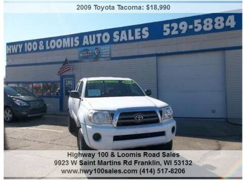 2009 Toyota Tacoma for sale at Highway 100 & Loomis Road Sales in Franklin WI