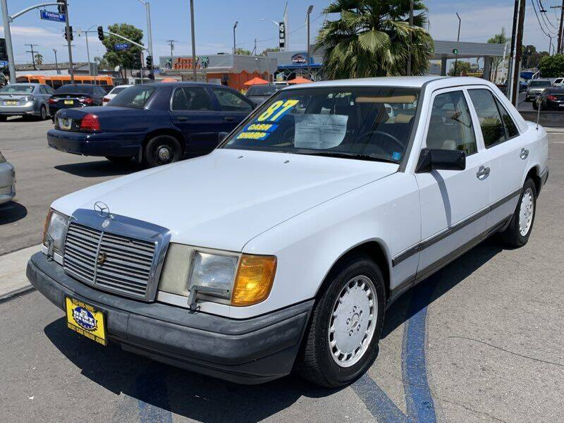 1987 Mercedes-Benz 300-Class for sale at Best Car Sales in South Gate CA
