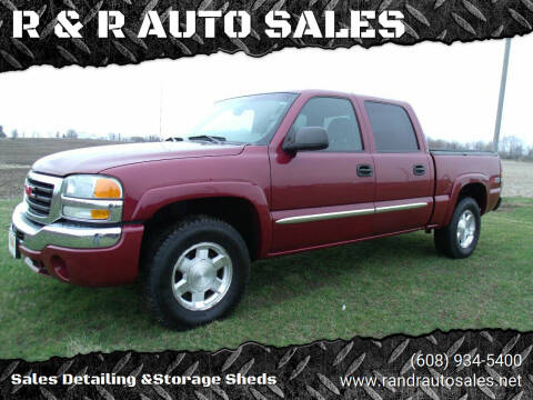 2004 GMC Sierra 1500 for sale at R & R AUTO SALES in Juda WI