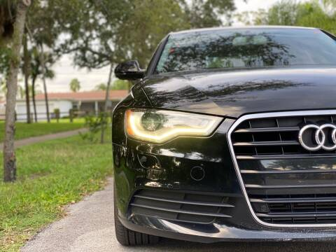 2013 Audi A6 for sale at HIGH PERFORMANCE MOTORS in Hollywood FL