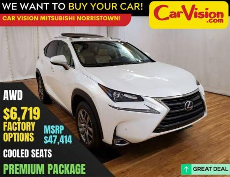 2016 Lexus NX 300h for sale at Car Vision Mitsubishi Norristown in Trooper PA