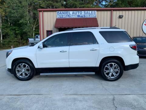 2015 GMC Acadia for sale at Daniel Used Auto Sales in Dallas GA