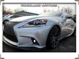 2014 Lexus IS 250 for sale at Rockland Automall - Rockland Motors in West Nyack NY